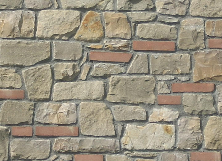 Muri in pietra per esterni stunning download by tablet for Micci peperino