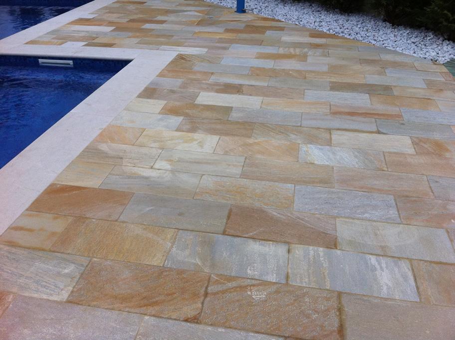 Pavimenti in quarzite brasiliana cava bettoni - Foto pavimenti ...