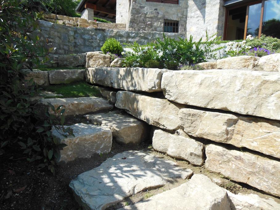 Pietre per giardino roccioso latest pietre ornamentali per giardino with pietre per giardino - Giardini con pietre bianche ...