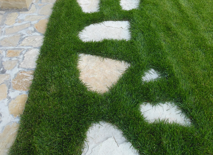 Scale e decorazioni in pietra per giardini cava bettoni - Decorazioni per giardini ...